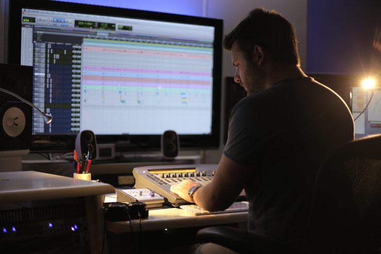 Luca Panebianco tecnico del suono